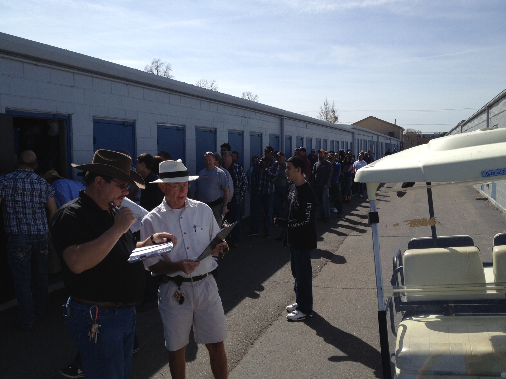 Auction Day: Our Version Of Storage Wars!